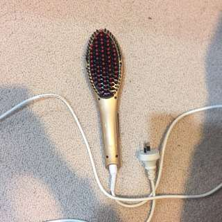 Hair Straightening hairbrush