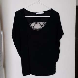 Unbranded Shirt with Lace Detail