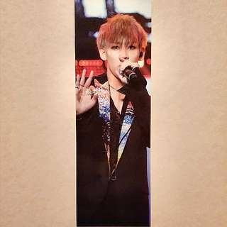 "TRADE GOT7 Official 1st Concert ""Fly in Seoul"" FINAL Bambam Bookmark"