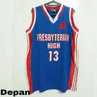 Jersey Basket Presbiteryan High 13