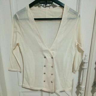 Cream Outerwear