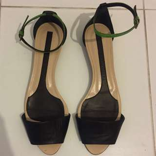 Narciso Rodriguez Ankle Strap Sandals