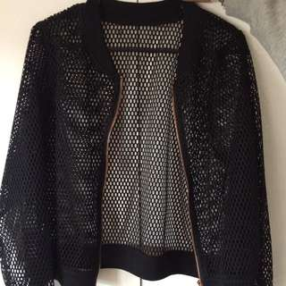 Mesh Netted Jacket