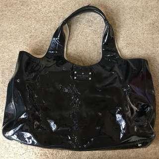 Kate Spade Hobo Bag Black Leather