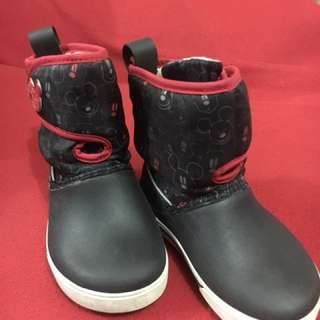 Authentic Crocs Mickey Mouse Boots