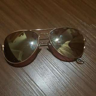 Cotton On Rose Gold Mirrored Sunglasses