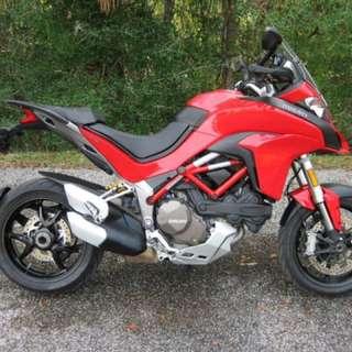 2015 Ducati Multistrada 1200, 6k Miles. Free Delivery!
