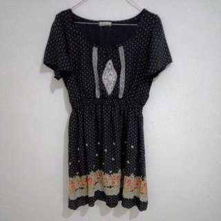 Dress Butik Pulkadot Pattern