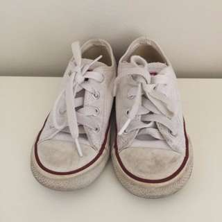 Converse Kids Chuck Taylor All Star Classic - White (> 70% Off)