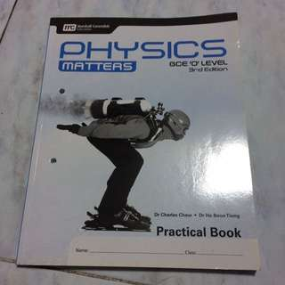 Marshall Cavendish Physics Matters O Level Practical Book
