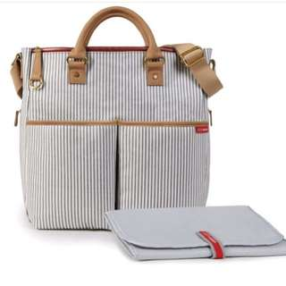 SkipHop Duo Essential french stripes limited edition.