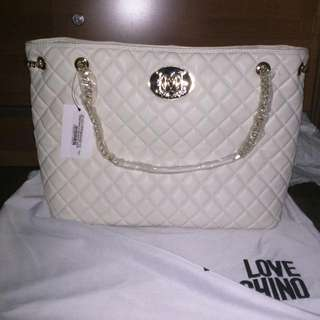 Authentic Love Moschino Large Tote Bag