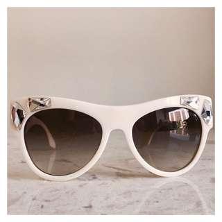 Brand New white Prada Sunglasses