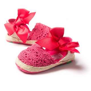 Sweet Candy Crochet Baby Sandals