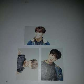 Jhope Epilouge Cards (1,4 &7 )
