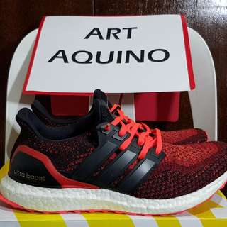 Adidas Ultra Boost 2.0 Solar Red - US 10.5