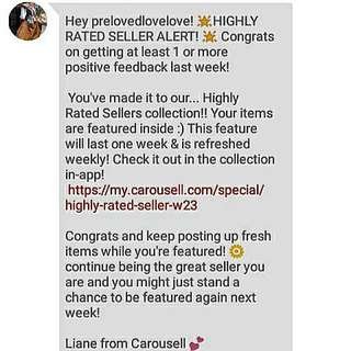 Thank You Carousell 😊😊