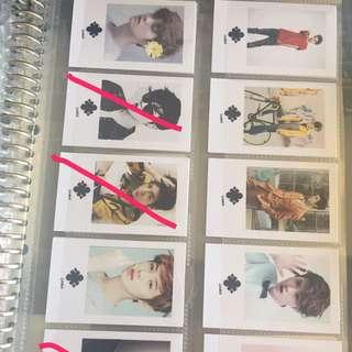 Luhan lomo photocard