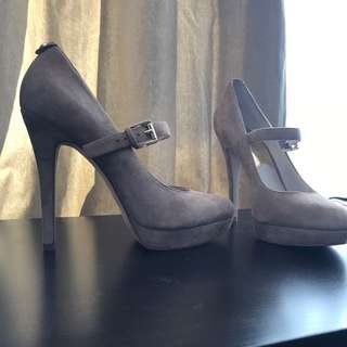 Michael Kors suede Mary Jane Pumps (size 8)