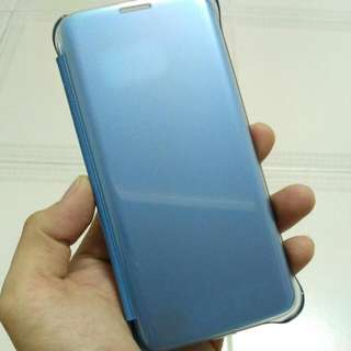 S7 Edge Clear View Case Cover