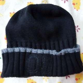 NET 全新 黑色 毛線帽