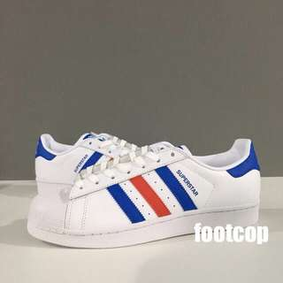 [SALE] Adidas Superstar Blue Red