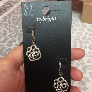 New York & Co. Flower Earrings