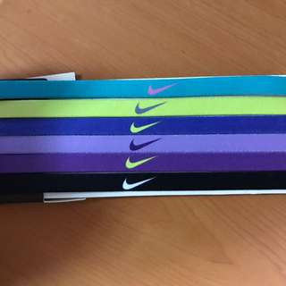 全新 Nike 髮帶 一組