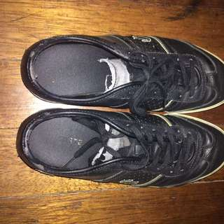 Lacoste black shoes