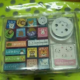 🚚 Asahiyama Zoo 日本手札小印章