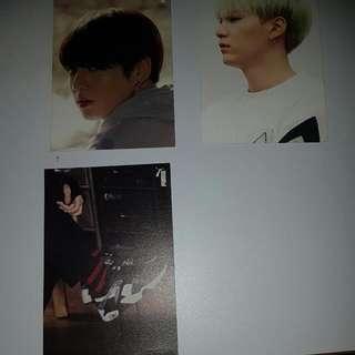 Jungkook And Suga Puma Photocards