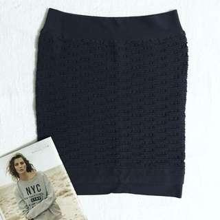 Gray Bandage Skirt