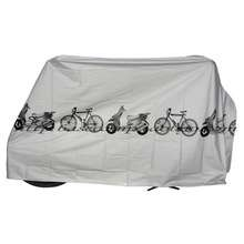 UV protector cover dustproof Bike Rain Dust Cover Waterproof Outdoor Gray For Bike Bicycle Cycling