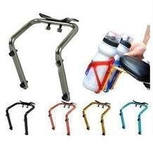 Bicycle Cycling Seat Post Back Double Water Bottle Holder Bike Saddle Bottle Cage Rack Adapter Bike accessories