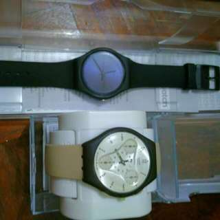 Two Swatch Watches New