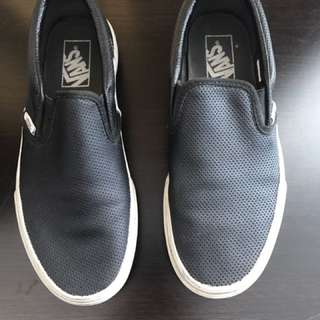 Vans Leather Sneakers Size 8.5