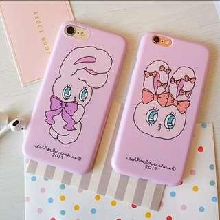 萌系小兔子iPhone手機殼