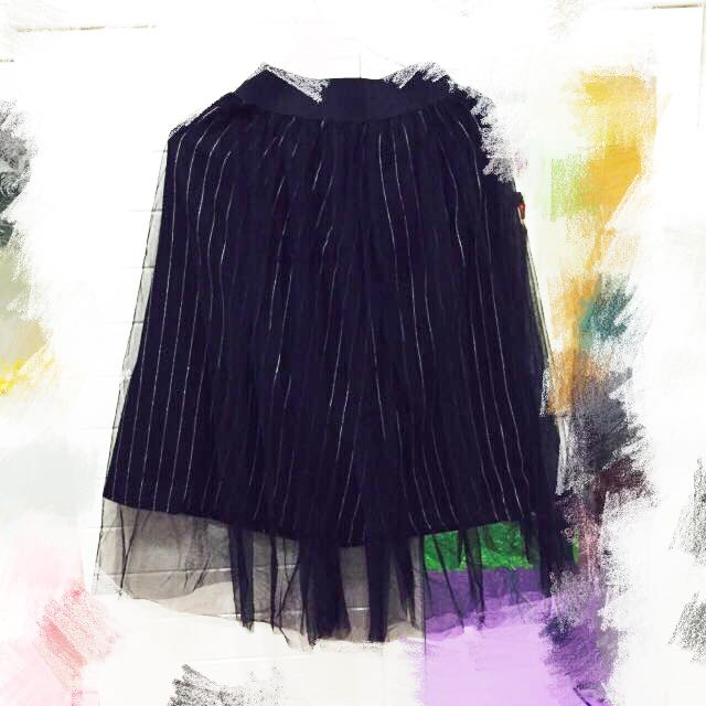 全新中長紗裙