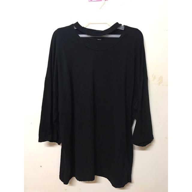 14-黑色上衣