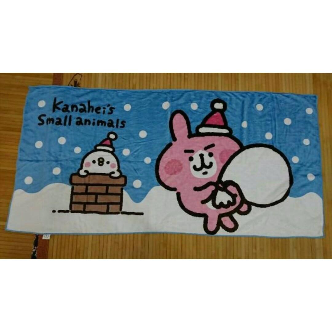 全新 非盒裝 7-11卡娜赫拉兩用大毛巾 142cm x 70cm 剩三款