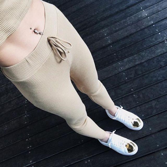 小白鞋 白 厚底 金 運動休閒鞋