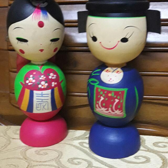 😉正韓貨(>﹏<)        韓國夫妻🤗易於當擺飾用。  自用🤗送禮🤗兩相宜。  不含運費。