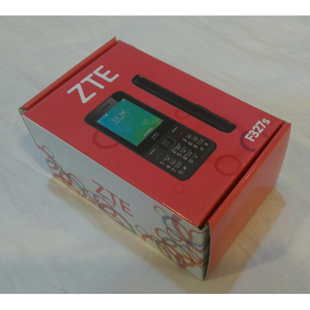 [已售出 - SOLD][可交換] 全新 ZTE F327s 神腦保固