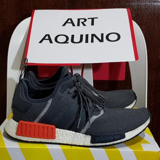 Adidas NMD Grey Wool - US 10.5