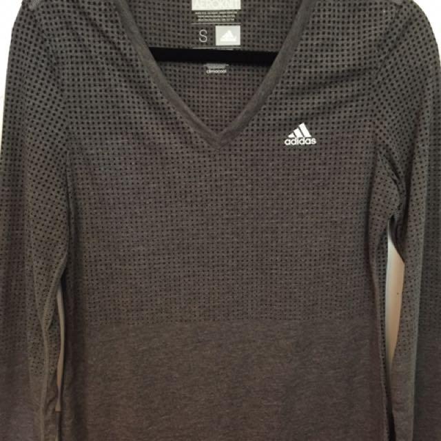 Adidas V-neck Long Sleeve With Logo