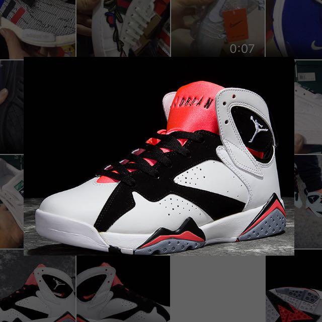 101f25c78ba5a2 Air Jordan 7 SG  Hot Lava  (ori china)