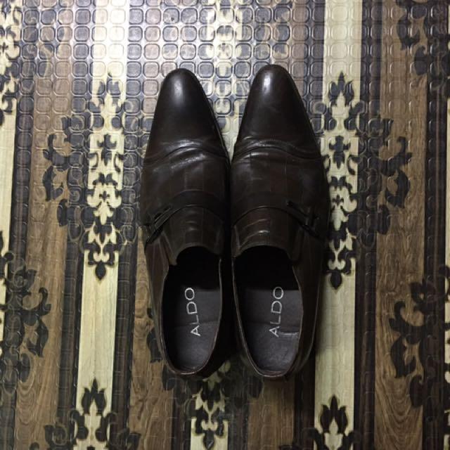Aldo Dark Brown Shoes