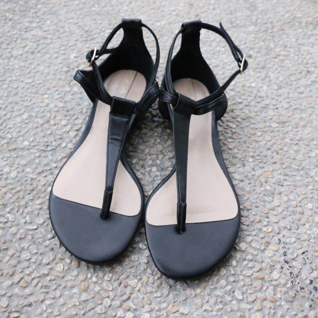 ALDO New Black Sandals