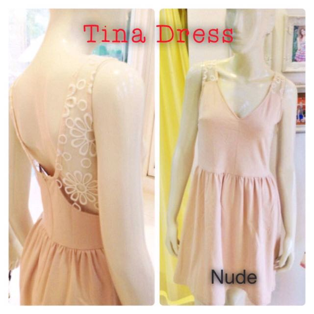 Apartment 8 nude dress