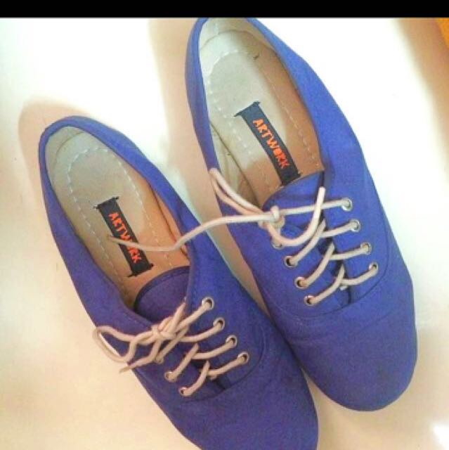 Artwork Blue Oxford Inspired